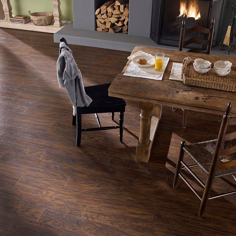 Antique Hickory Laminate Flooring