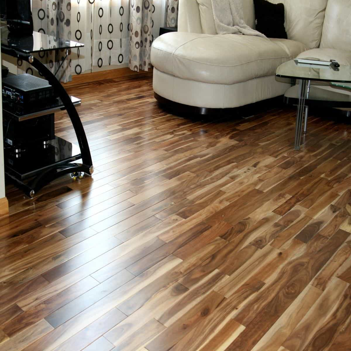 Blonde Laminate Wood Flooring