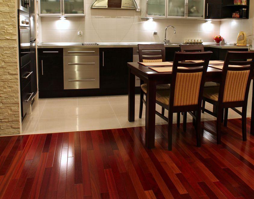 Brazilian cherry hardwood flooring has always been a great choice