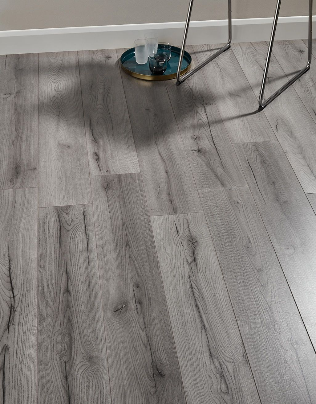Dark Gray Laminate Flooring