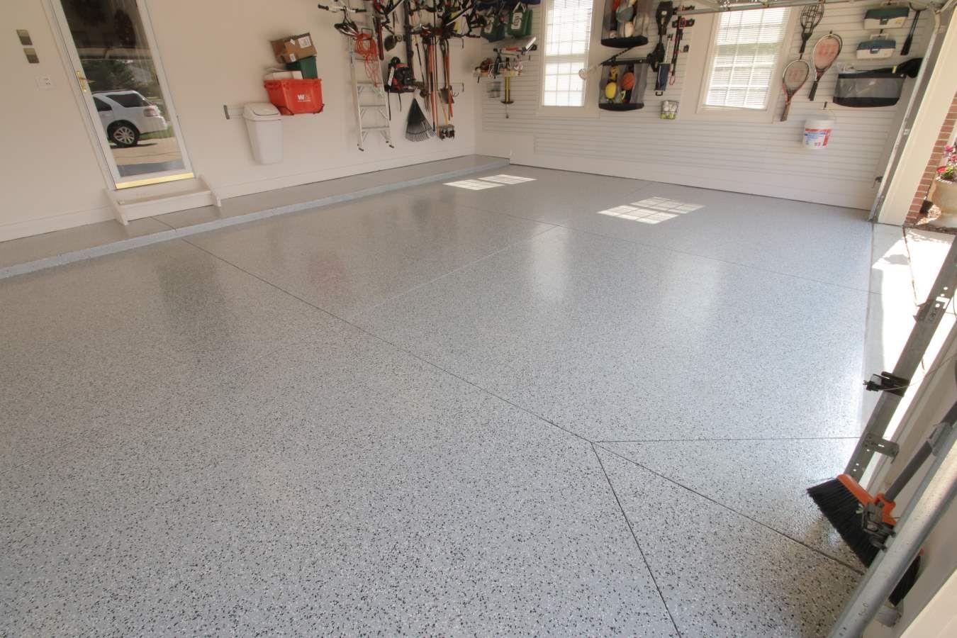 Laminate Flooring in Garage