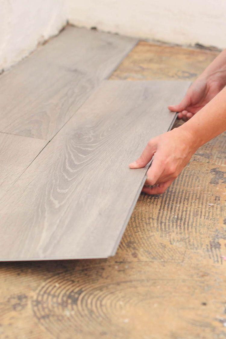 Laminate Plank Flooring Installation