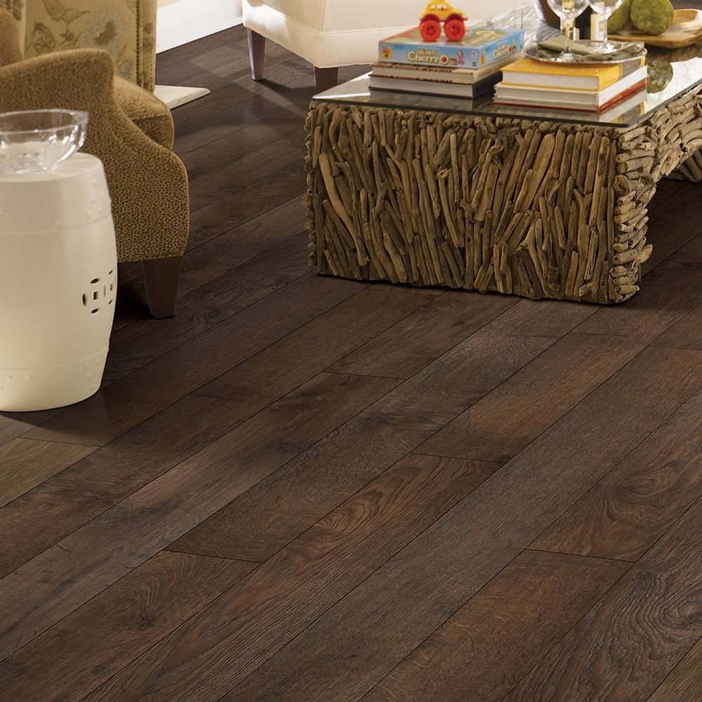 Mohawk Earthen Chestnut Laminate Flooring