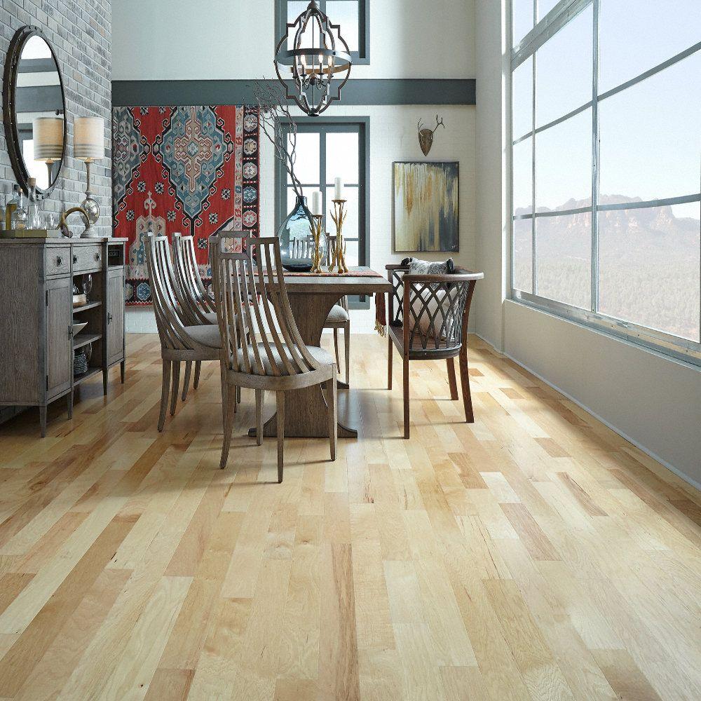 Natural Hickory Prefinished Hardwood Flooring