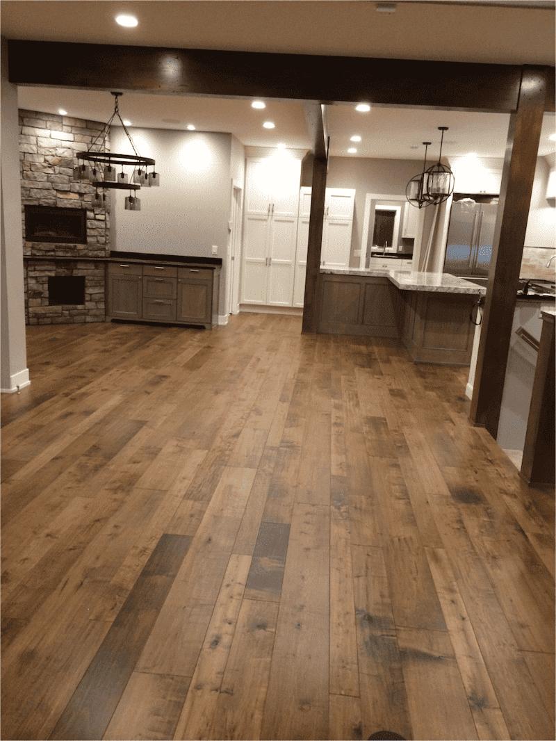 Rustic Prefinished Hardwood Flooring