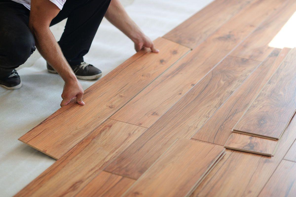 Trafficmster Glue Less Laminate Flooring