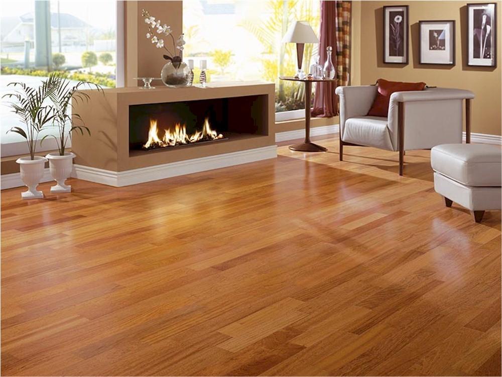 Unfinished Brazilian Cherry Hardwood Flooring