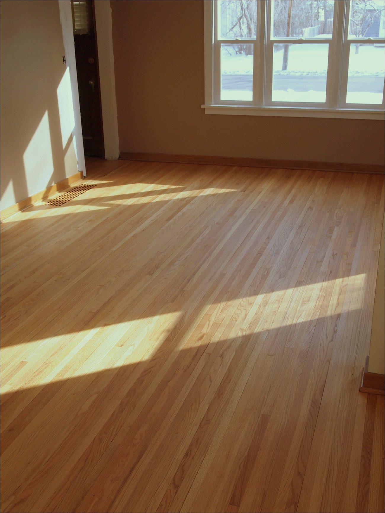 Unfinished Oak Hardwood Flooring