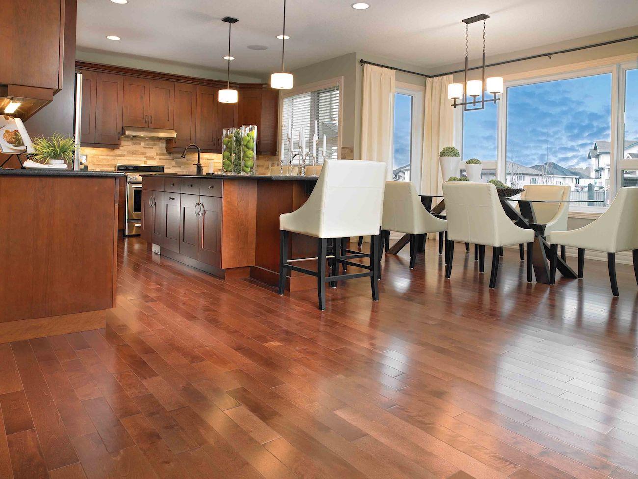 Warm Maple Prefinished Hardwood Flooring