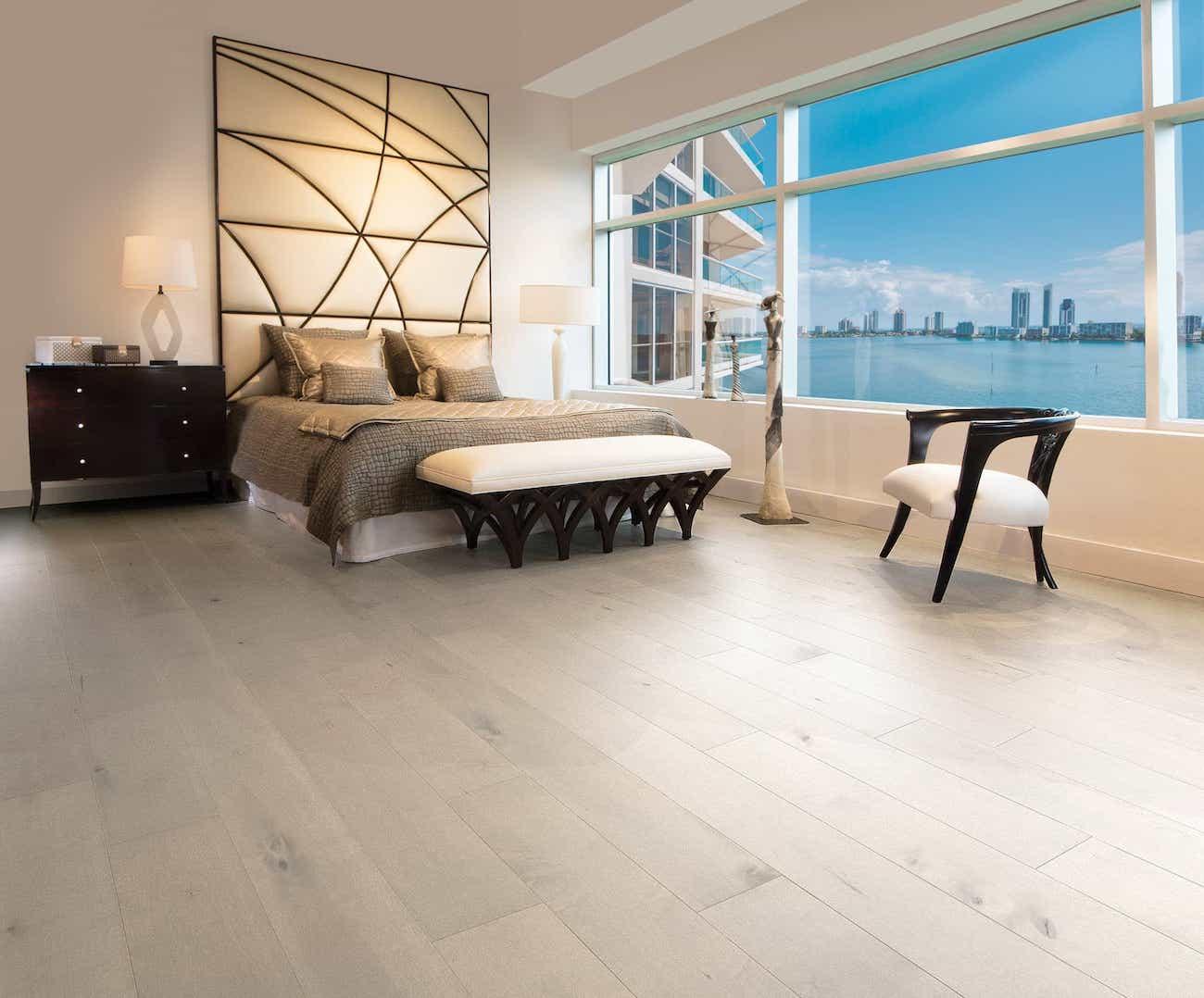 White Maple Prefinished Hardwood Flooring
