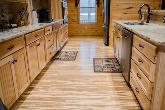 bamboo flooring kitchen