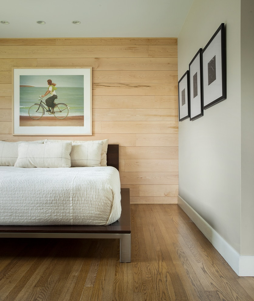 bedroom laminate flooring on walls