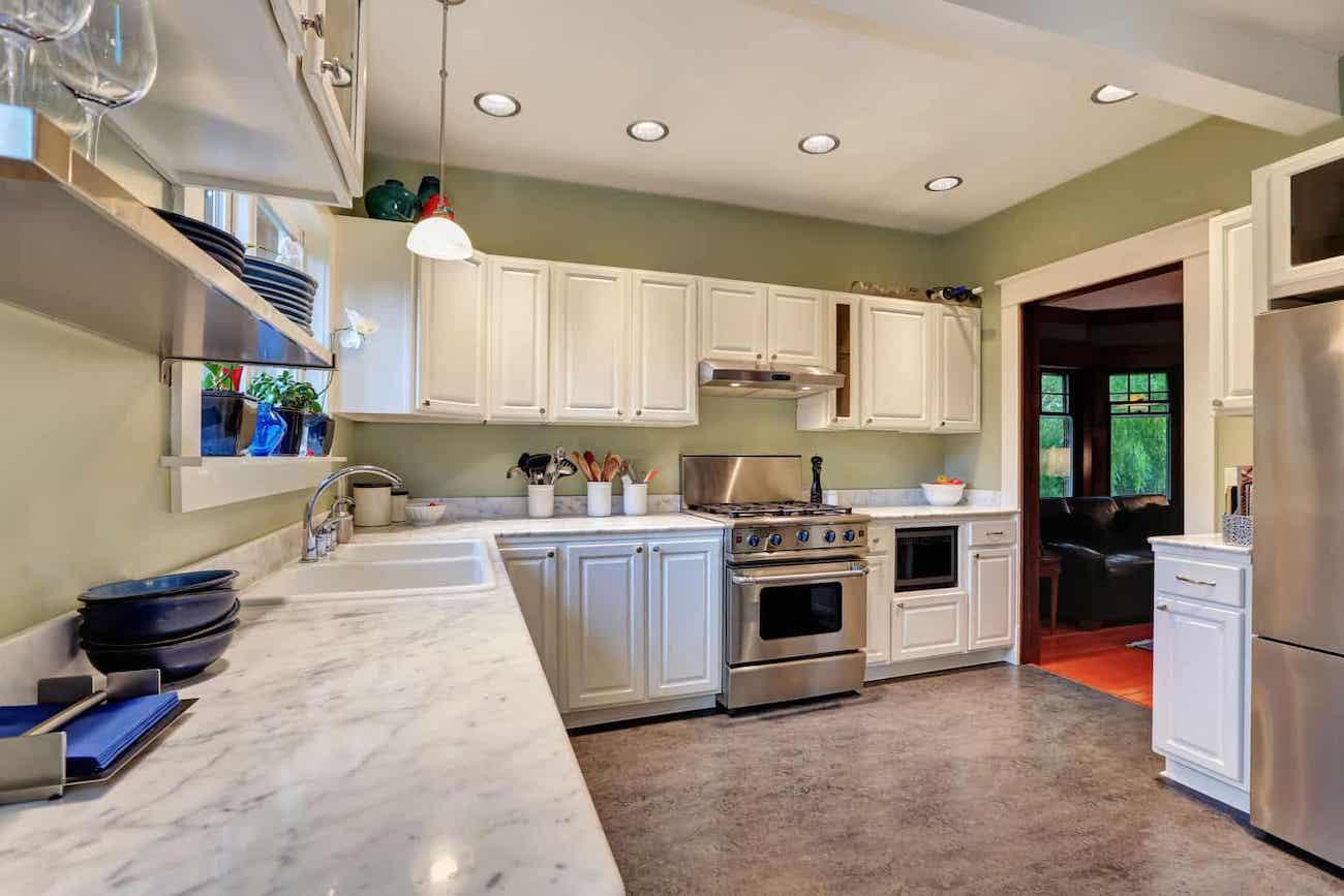 best linoleum flooring for kitchen