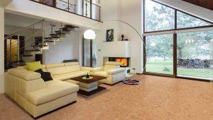 cork flooring option basement