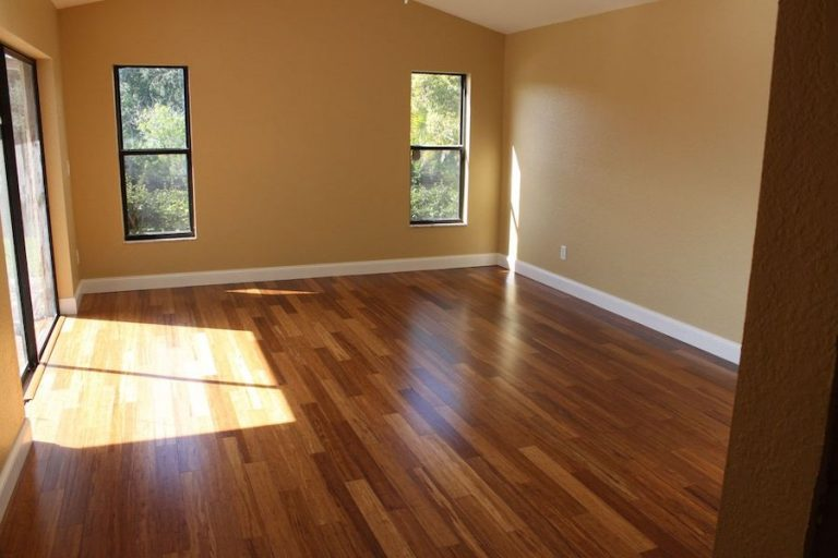 floating bamboo flooring