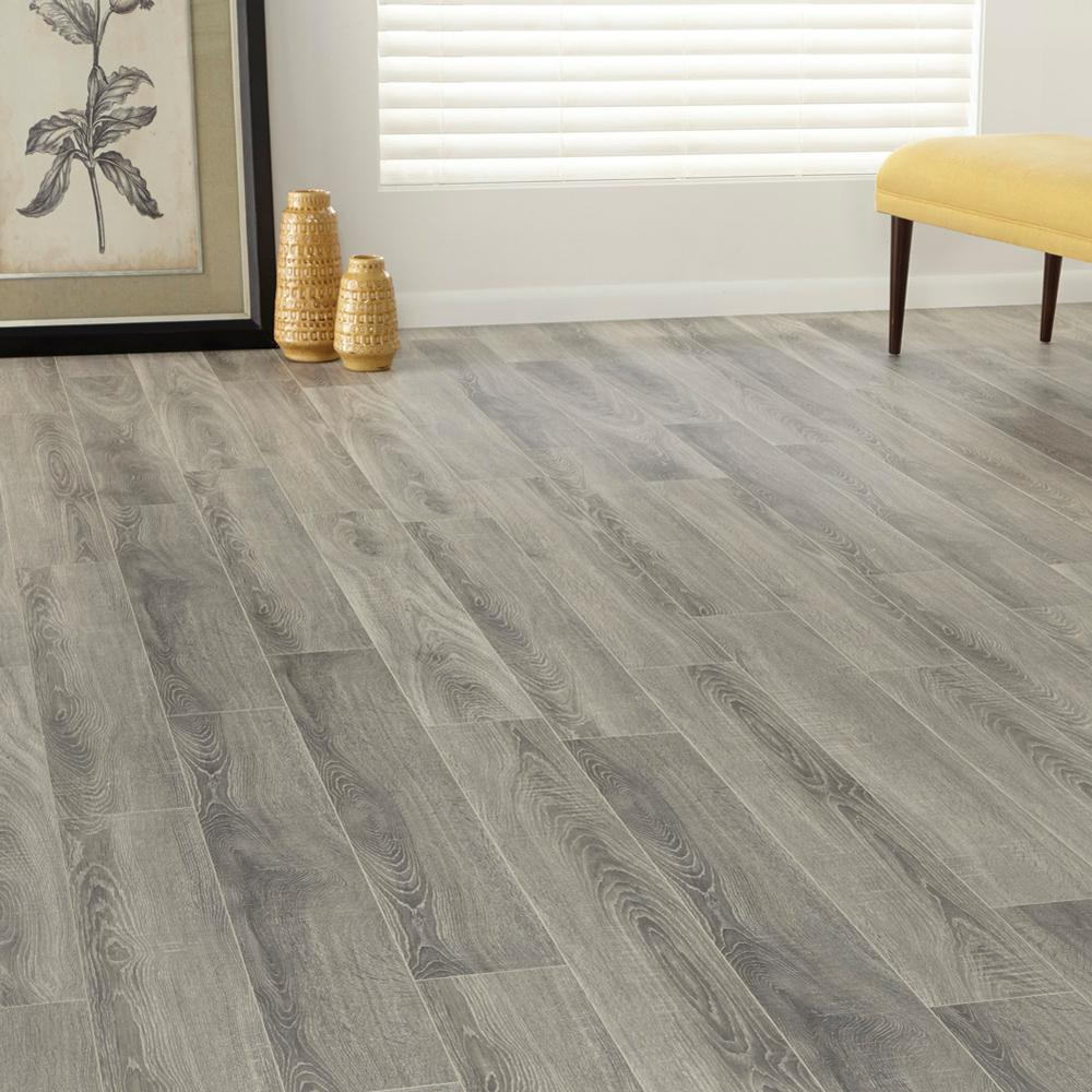 12mm White Grey Pine Laminate Flooring Ideas