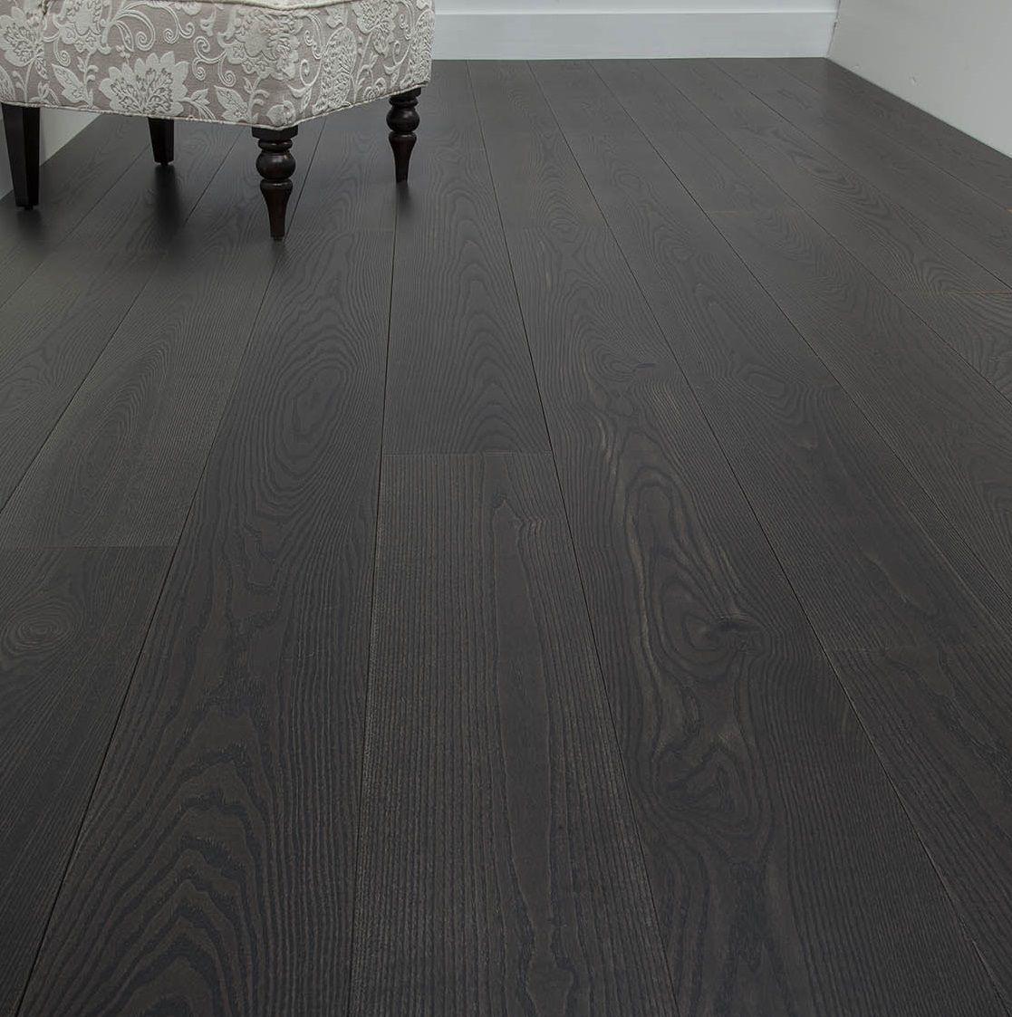 Black Laminate Plank Flooring
