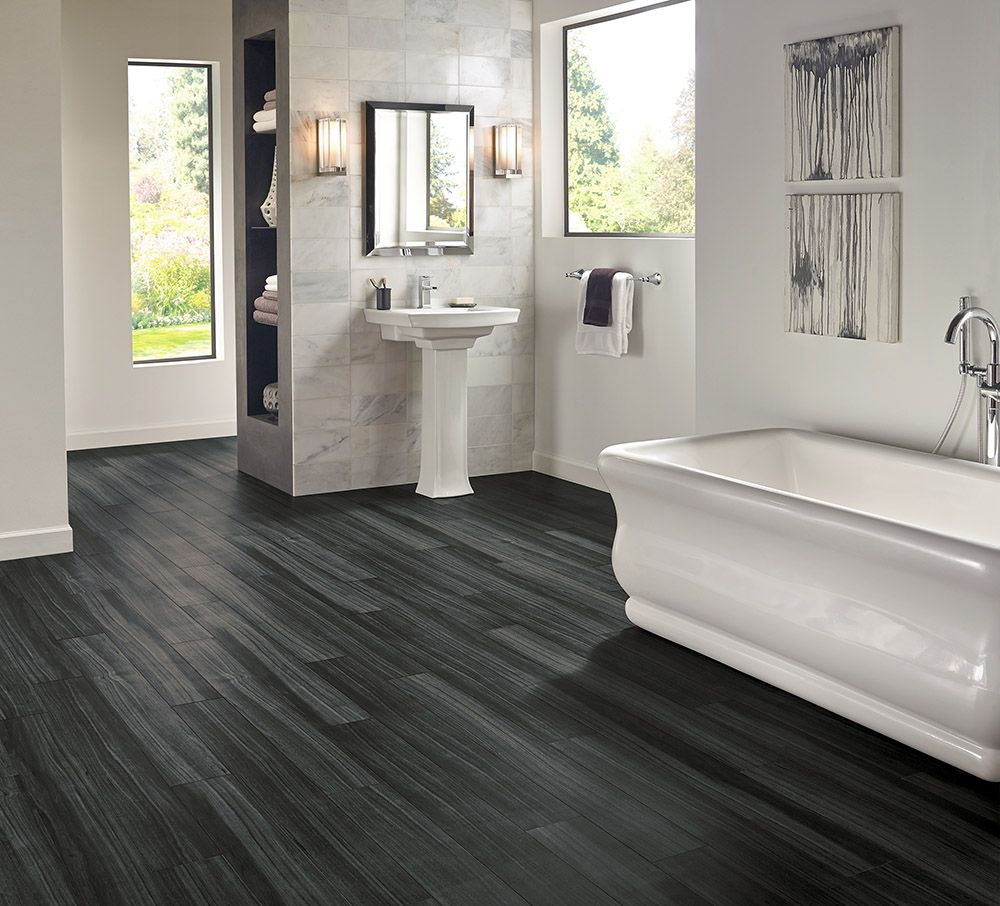 Black Wood Vinyl Flooring