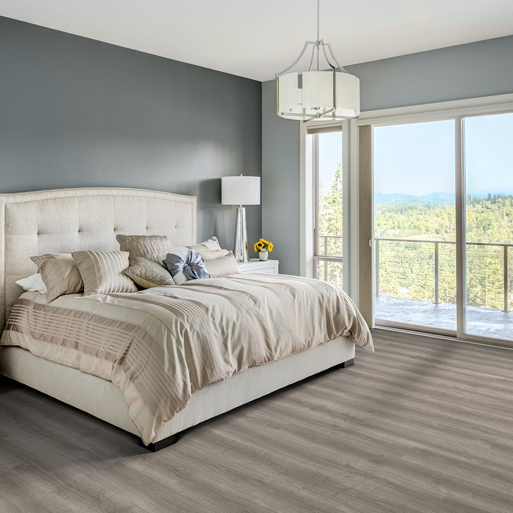 Blue Cedar Gray Vinyl Flooring