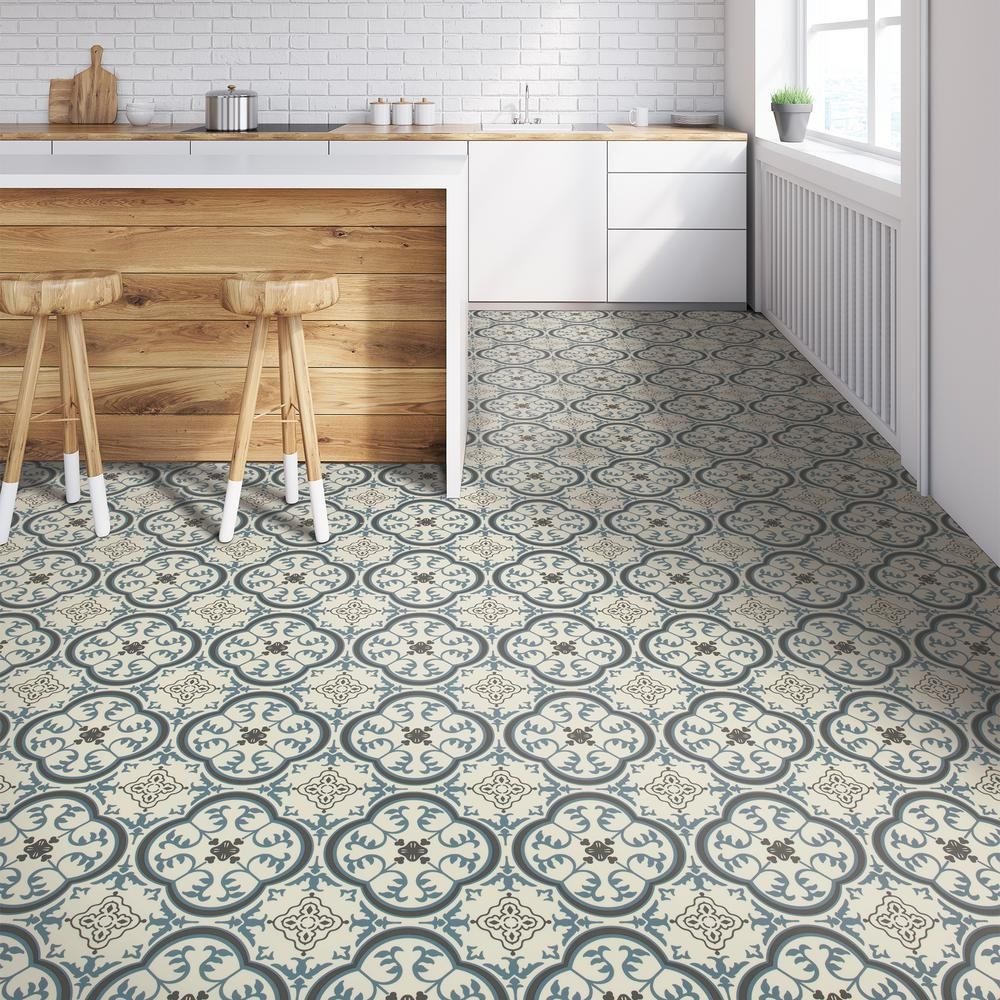 Blue Vinyl Sheet Flooring Ideas