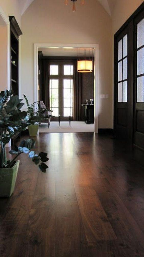 Dark Brown Vinyl Flooring