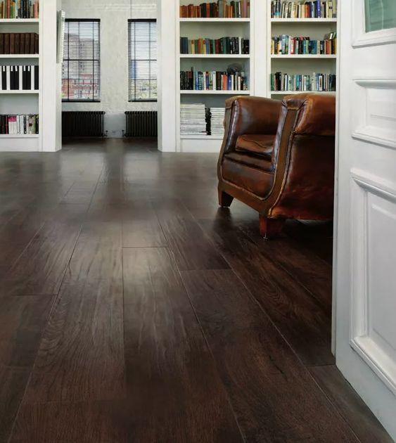 Dark Luxury Vinyl Flooring