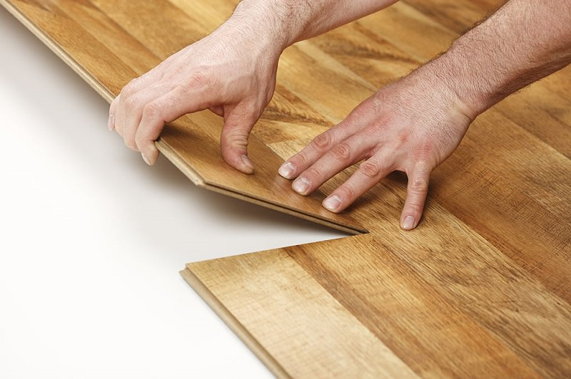 Glue less Laminate Flooring Installation
