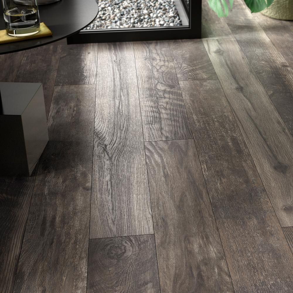 Grey Brown Laminate Flooring
