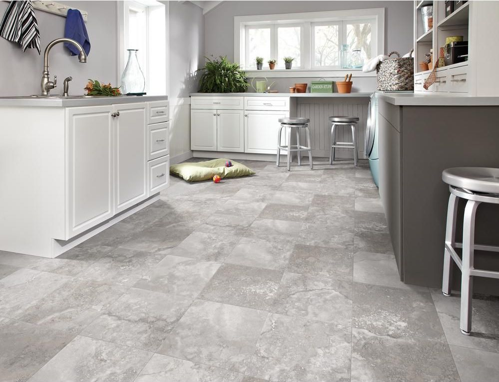 Grey Vinyl Sheet Flooring Ideas
