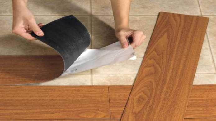 Pre Glued Laminate Flooring installation