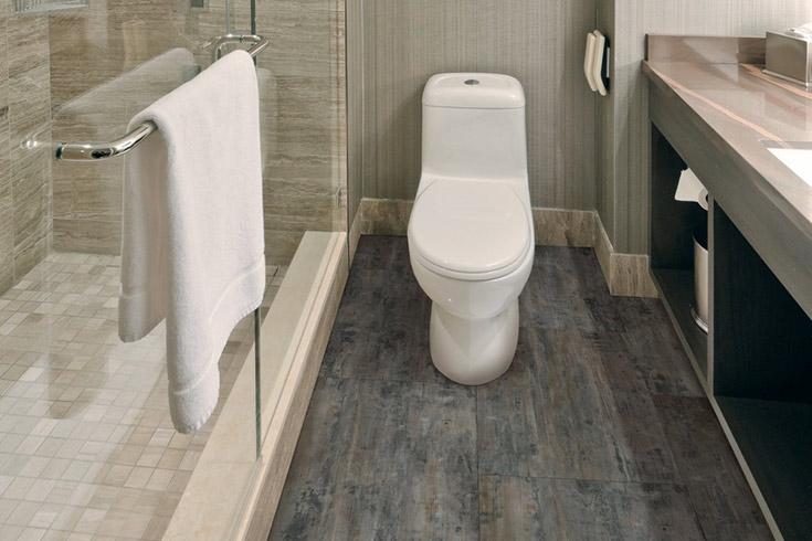 Tiles Vinyl Flooring for Bathroom