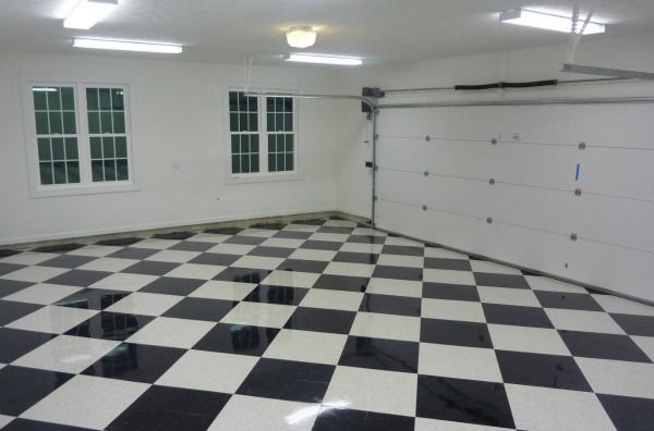 Vinyl Tile Flooring for Garage