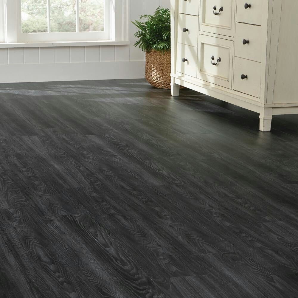 dark grey flooring