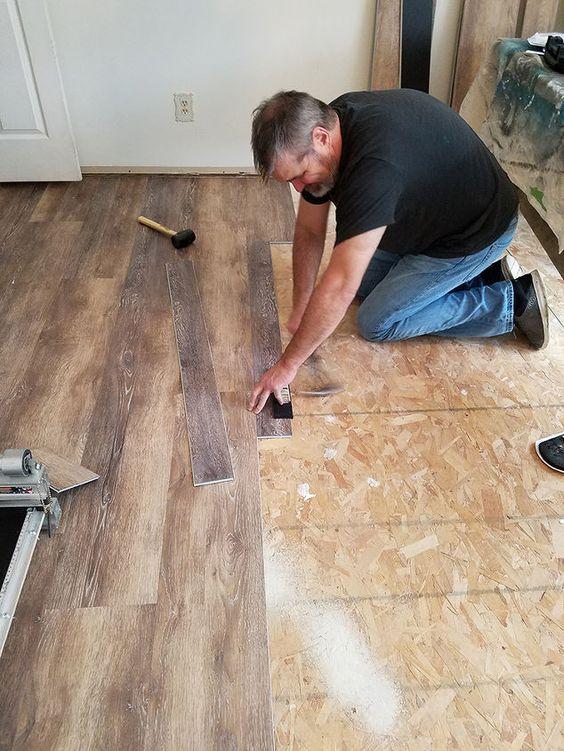 easy install vinyl flooring