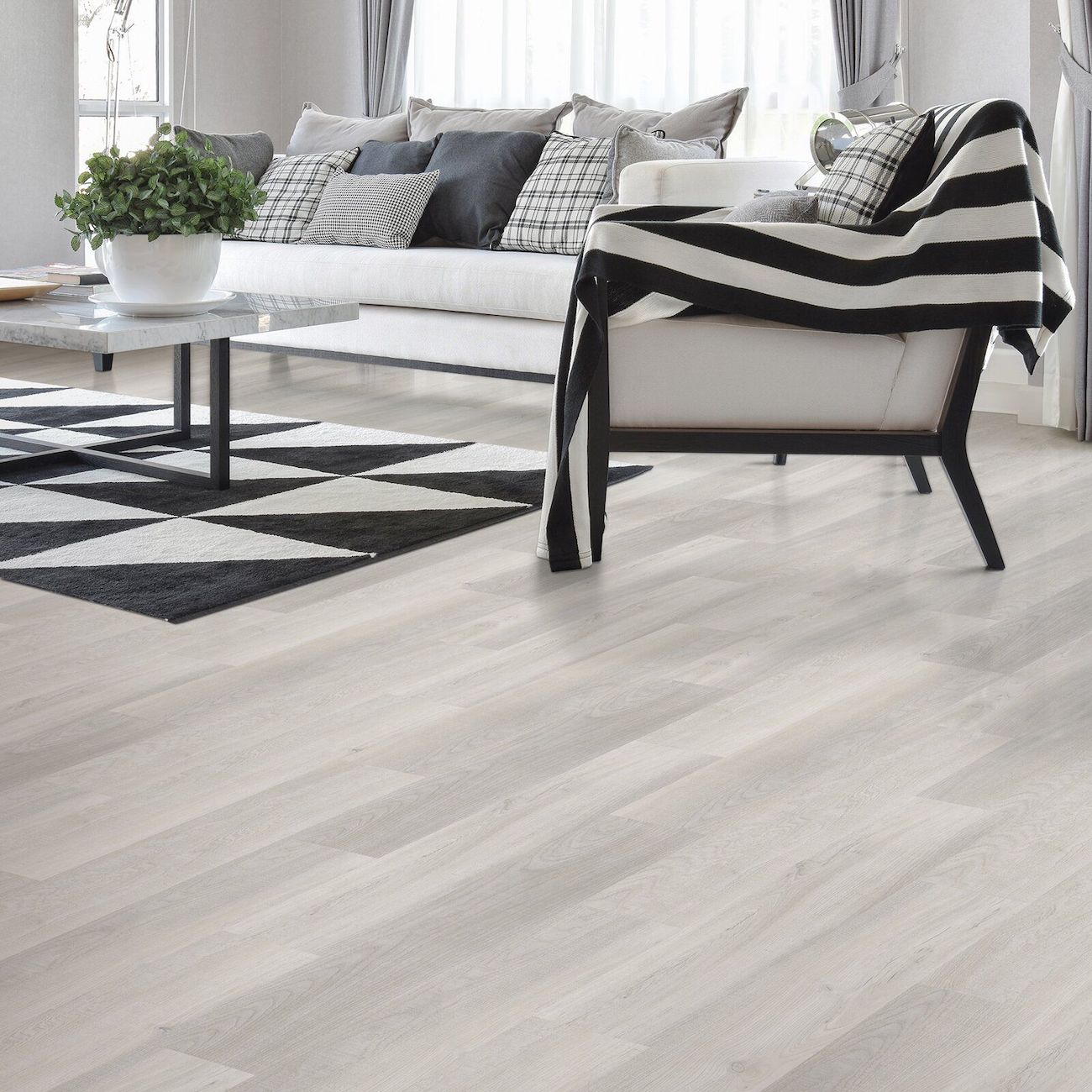 grey luxury flooring