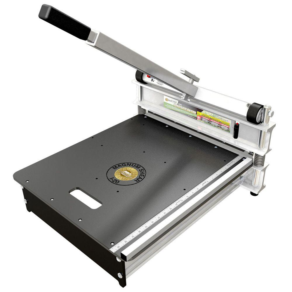 magnum shear vinyl flooring cutter