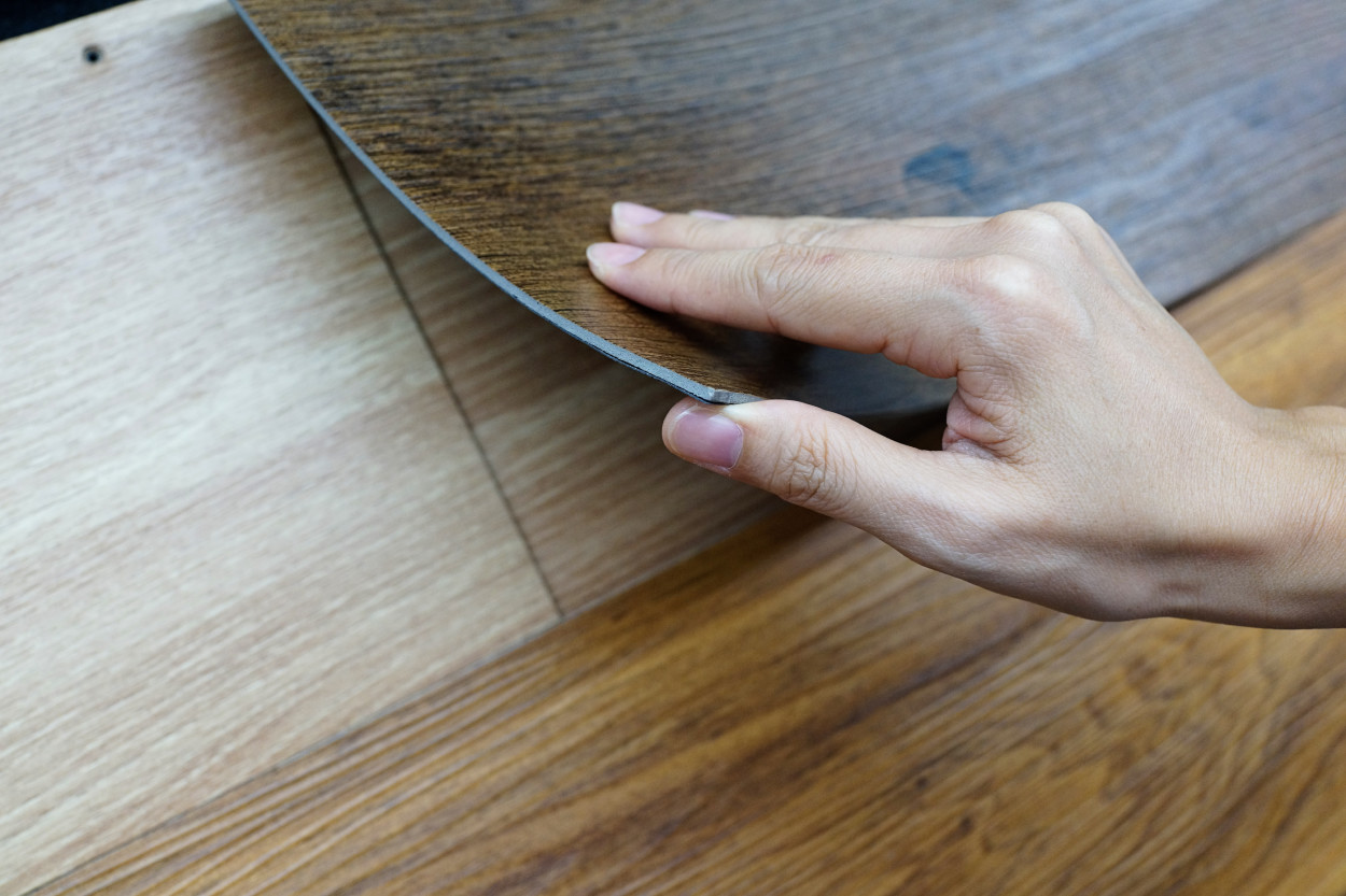 thickness of vinyl flooring