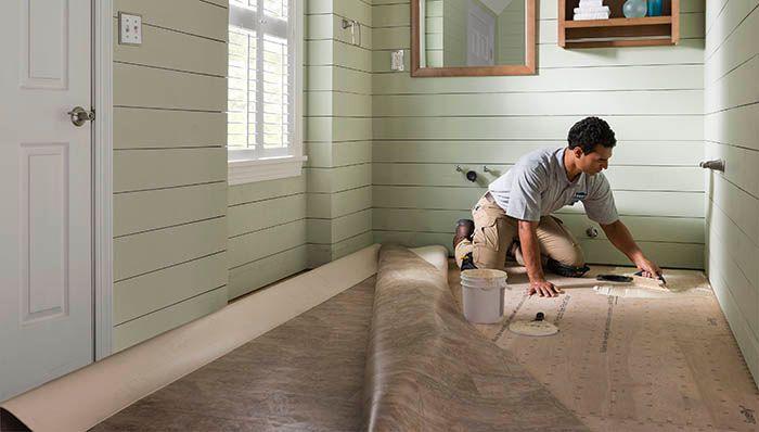 vinyl sheet flooring for bathroom