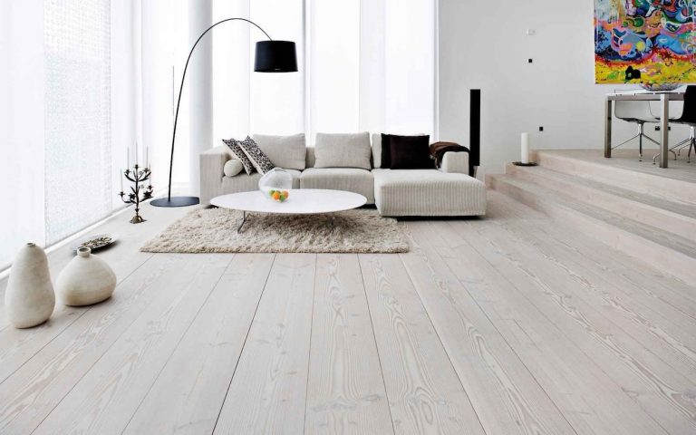 white laminate flooring ideas