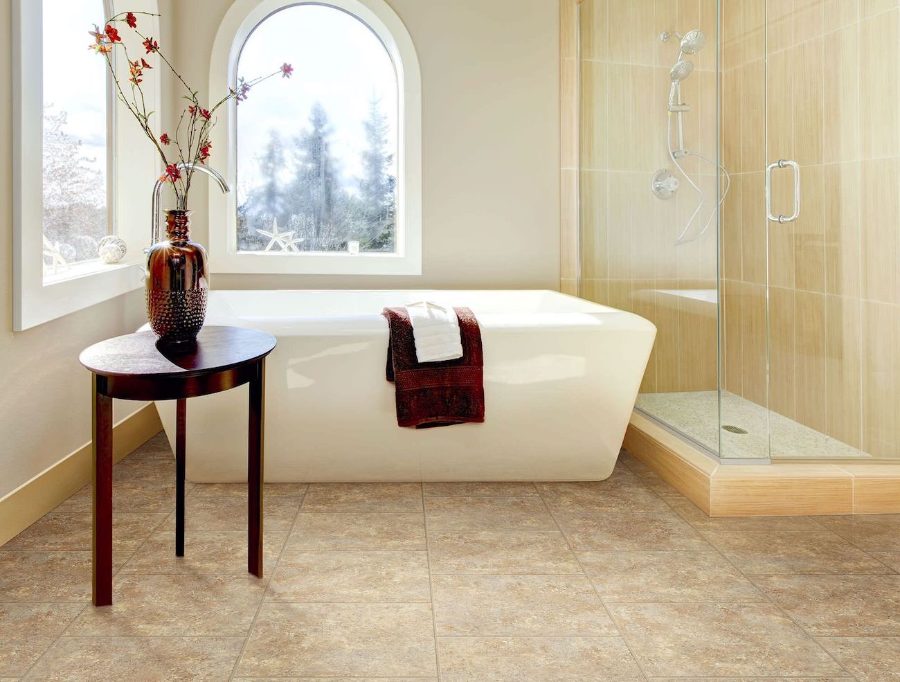 DuraCeramic Tile Flooring Review