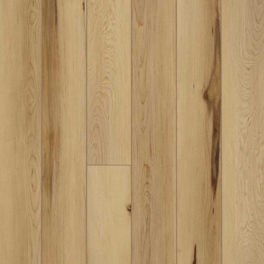 Luxury Vinyl Plank with Hickory Wood Look