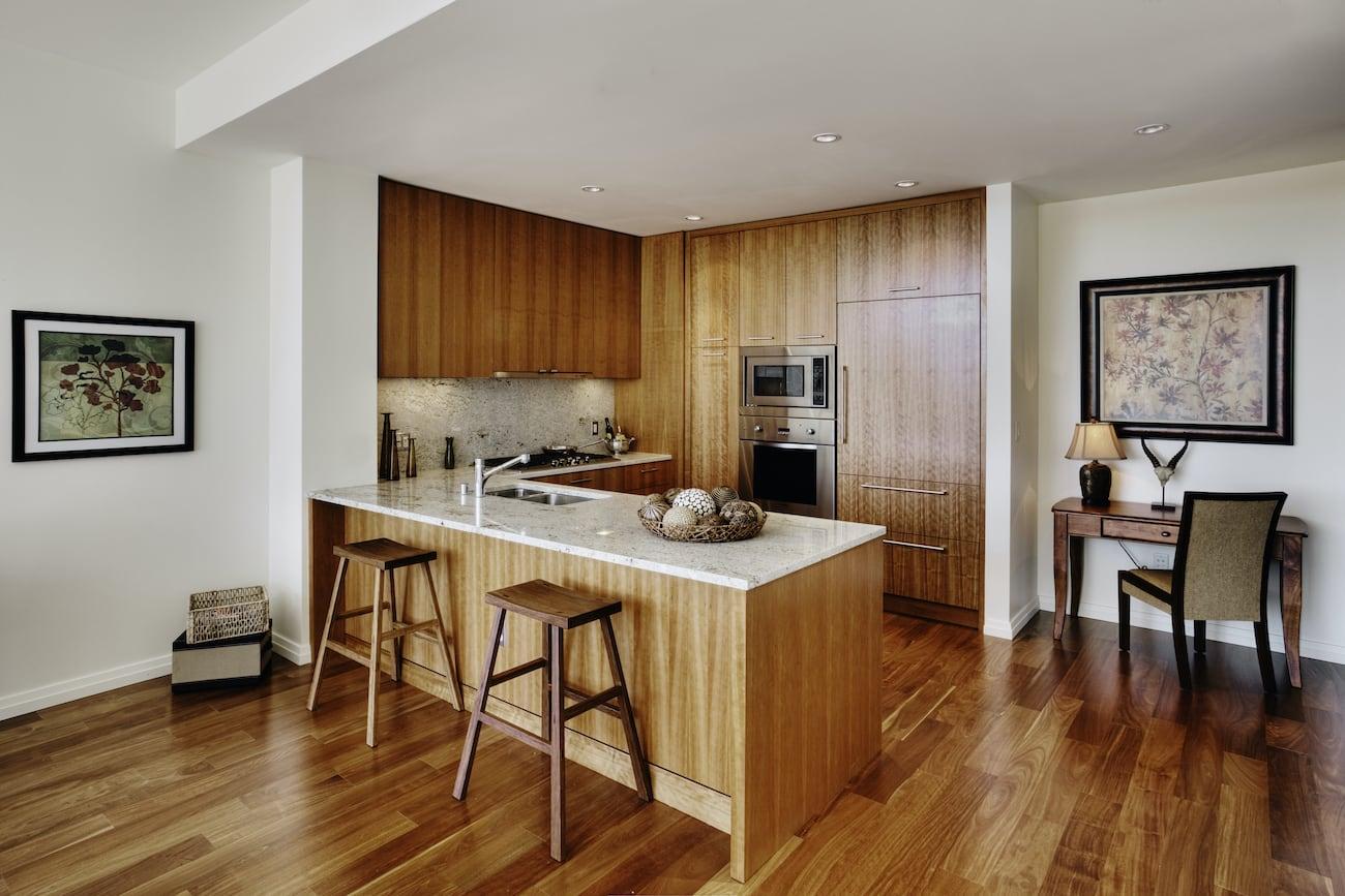 Modern All Wood Kitchen
