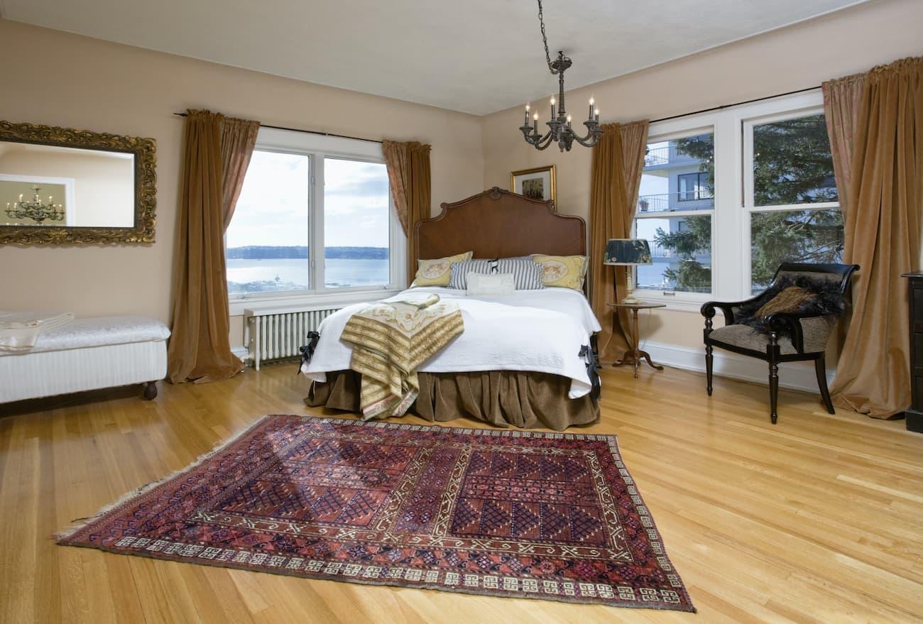 Popular Hardwood Bedroom Flooring