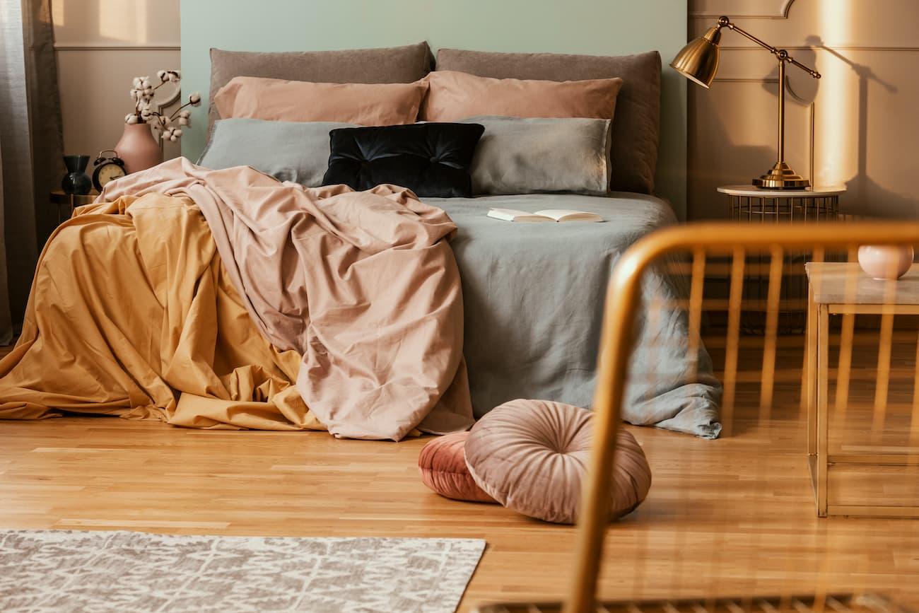 Popular Vinyl Bedroom Flooring