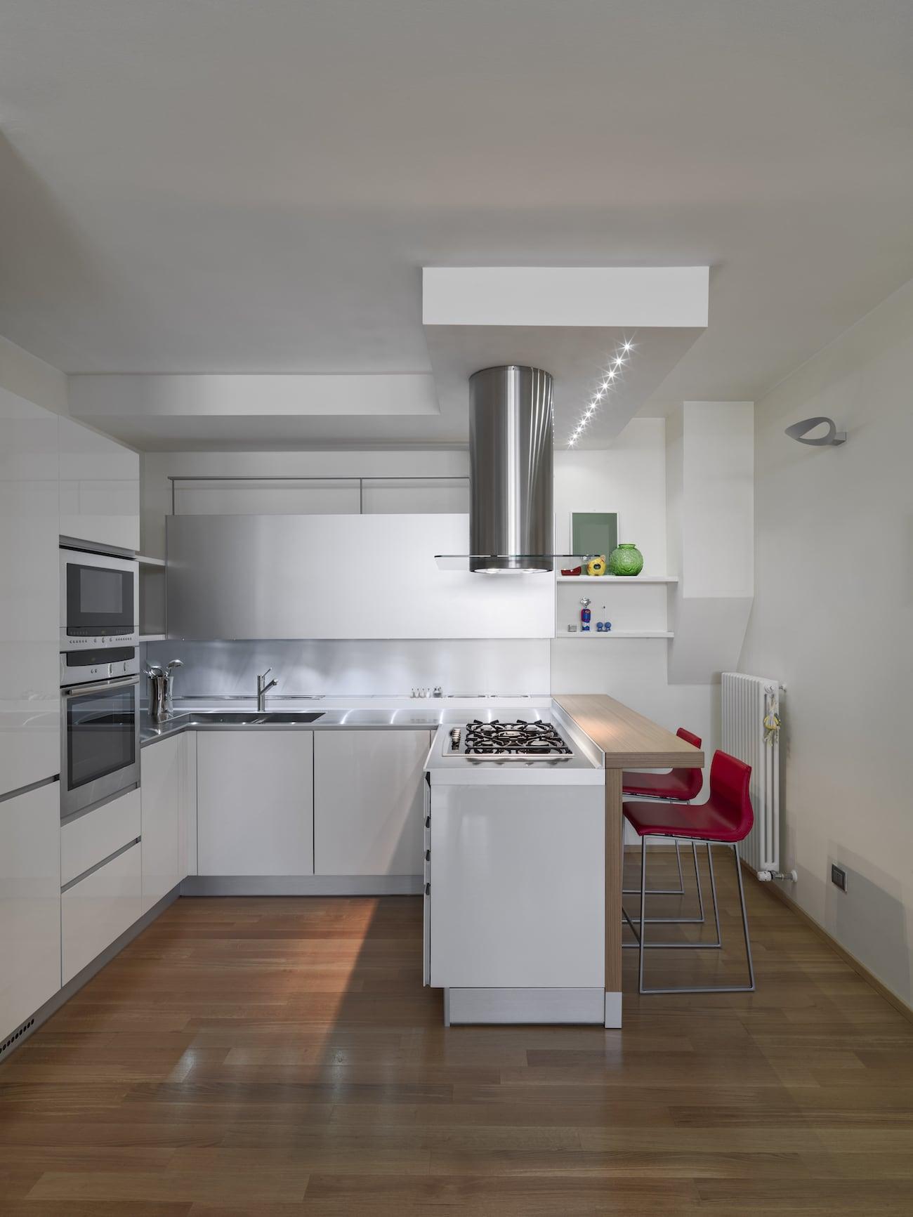 Wood Parquet Kitchen
